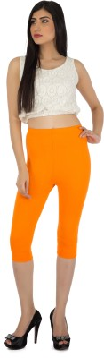 Legrisa Fashion Women's Orange Capri
