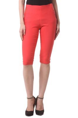 Vostro Moda Women's Orange Capri