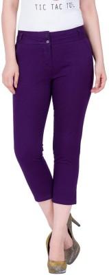 Amari West Women's Purple Capri
