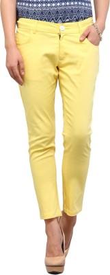 Yepme Women's Yellow Capri