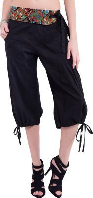 Tuntuk Short Chandra Pants Black Women's Black Capri