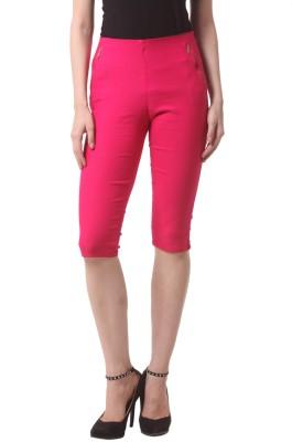 Vostro Moda Women's Pink Capri