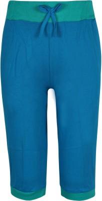 Jazzup Girl's Blue Capri