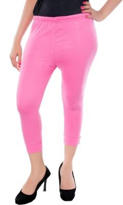 Feminine Women's Pink Capri