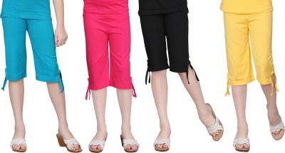 Sini Mini Capri For Girls(Multicolor)