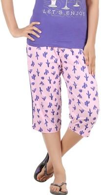 Meril Women's Pink Capri