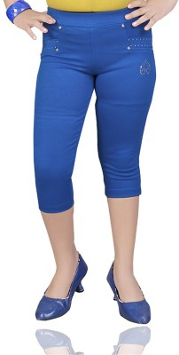 Mint Girl's Blue Capri