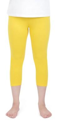 Vami Women's Yellow Capri