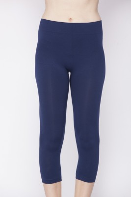 C9 Fashion Women's Dark Blue Capri