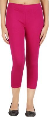 Notyetbyus Women's Pink Capri