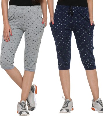 Vimal Women's Multicolor Capri at flipkart