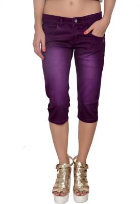 La Nina Women's Purple Capri