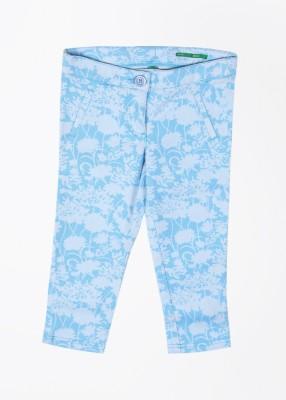 United Colors of Benetton Girl,s Blue Capri