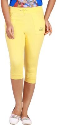 LWW Women's Yellow Capri