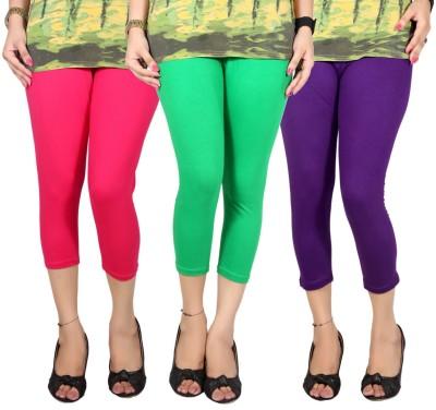 Q-Rious Women's Multicolor Capri