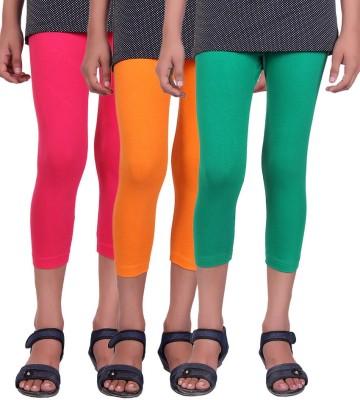 Alisha Superb Girl's Multicolor Capri