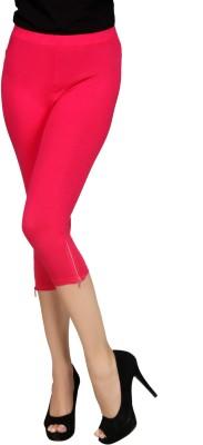 Sheenbottoms Women's Pink Capri