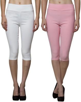 Both11 Women's Pink, Beige Capri