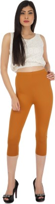 Legrisa Fashion Women's Gold Capri