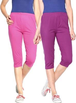 ESPRESSO Women's Purple, Pink Capri