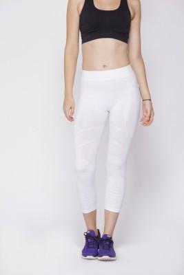 C9 Fashion Women's White Capri