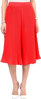 Uptownie Lite Pleat Me Right Culottes Women's Red Capri