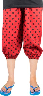 Victory Fashion Women's Red Capri