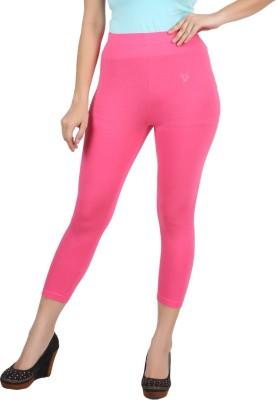 Twin Birds Women's Pink Capri
