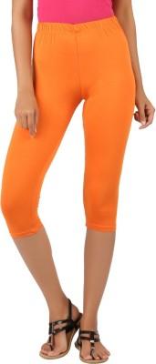 Newrie Capri Women's Orange Capri
