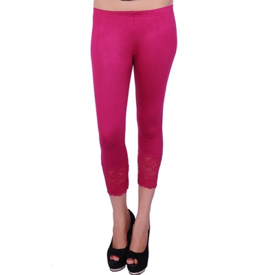 UrSense Fashion Women's Pink Capri