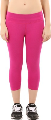 Lavos Women's Pink Capri