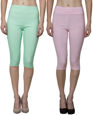 Both11 Women's Pink, Green Capri