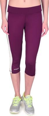 ONESPORT Women's Purple Capri