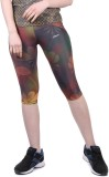 Yogue Women's Multicolor Capri