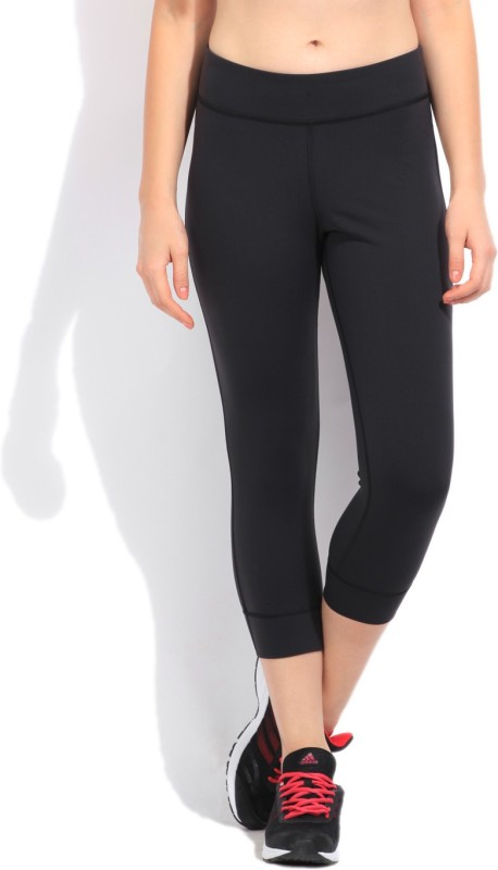 Reebok Women's Black Capri