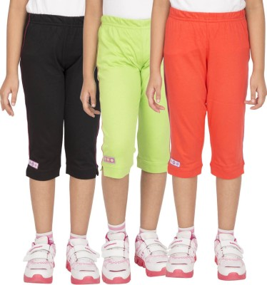 Ocean Race Fashion Girl's Multicolor Capri