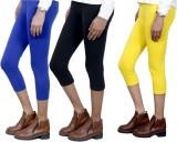 IndiWeaves Women's Blue, Black, Yellow C...