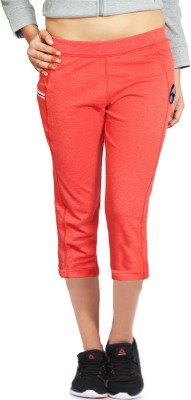 London Eye Women's Red, Blue Capri