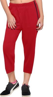 Towngirl Comfort wear Women's Red Capri