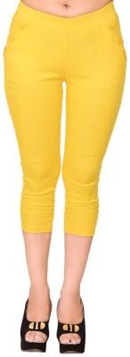 LGC Womens Yellow Capri