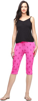 Trends Women's Pink Capri