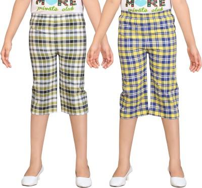 Sini Mini Girl's Multicolor Capri