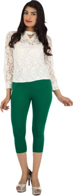 Legrisa Fashion Women's Dark Green Capri