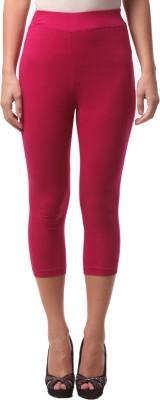 FashionExpo Women's Pink Capri