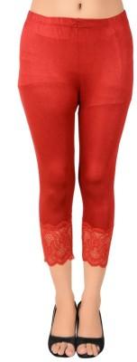 You Forever Women's Red Capri