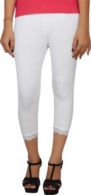 Hbhwear Women's White Capri