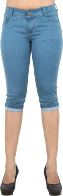 Ebony Women's Blue Capri