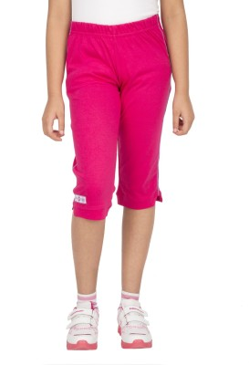 Ocean Race Fashion Girl's Pink Capri