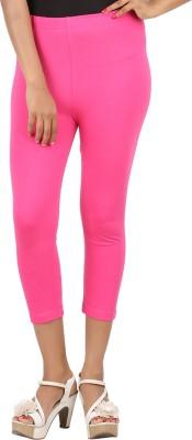 CHECKERSBAY Women's Pink Capri