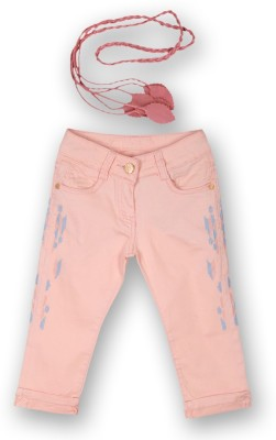 Lilliput Girl's Pink Capri